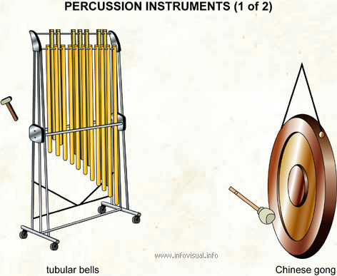 Percussion instruments (1 of 2)
