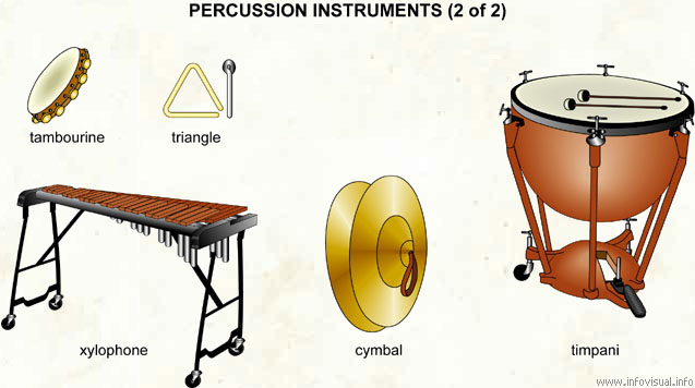percussion instruments 2 of 2 visual dictionary