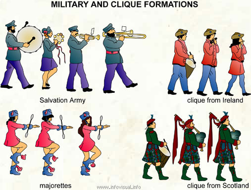 Military and clique formations