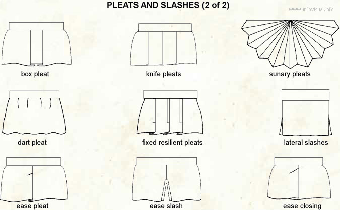 Pleat and slashe 2
