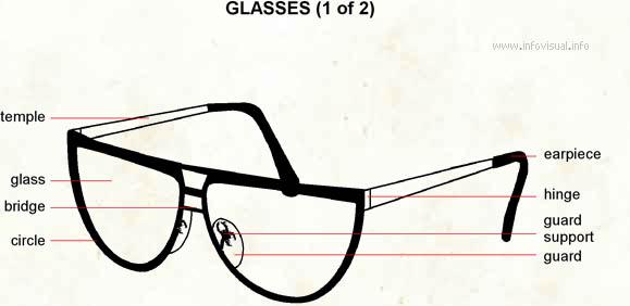 Glasses Visual Dictionary