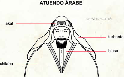Atuendo árabe